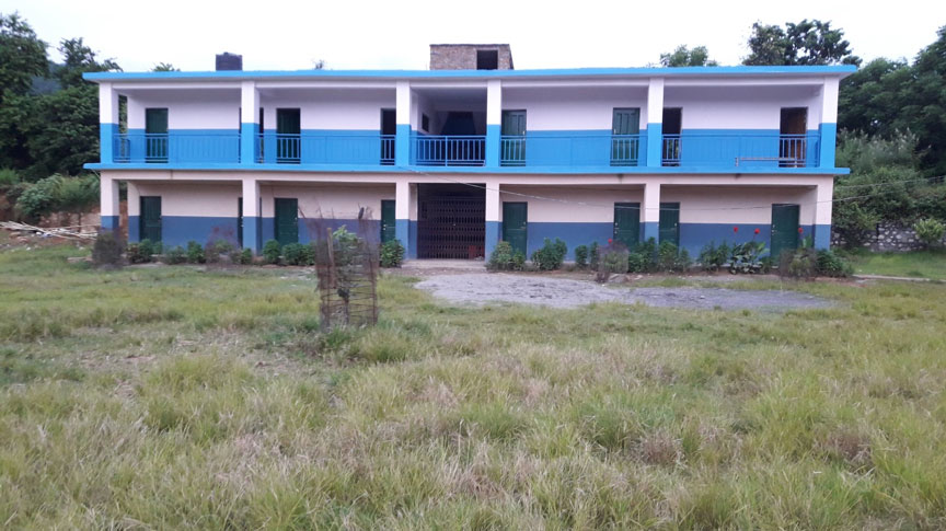 Expansion of Second Floor in Kyamin Secondary School is Completed
