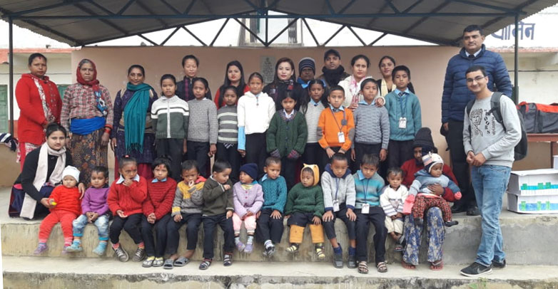 Winter Clothes Support Provided to Kyamin Secondary School