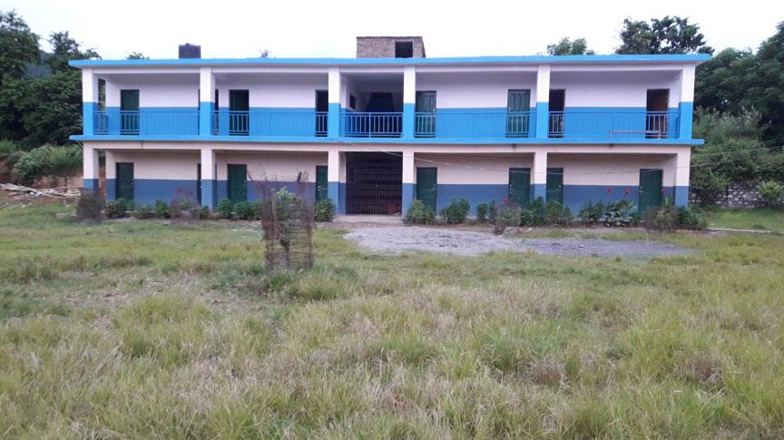 Se completa la expansión del segundo piso en la escuela secundaria Kyamin
