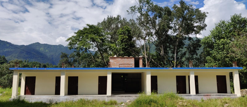 Construction of Tribhuwan Secondary School Completed