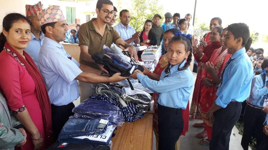 Scholarship Distributed in Kyamin Secondary School